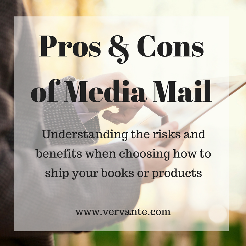 The Pros and Cons of Using Media Mail - Vervante Blog
